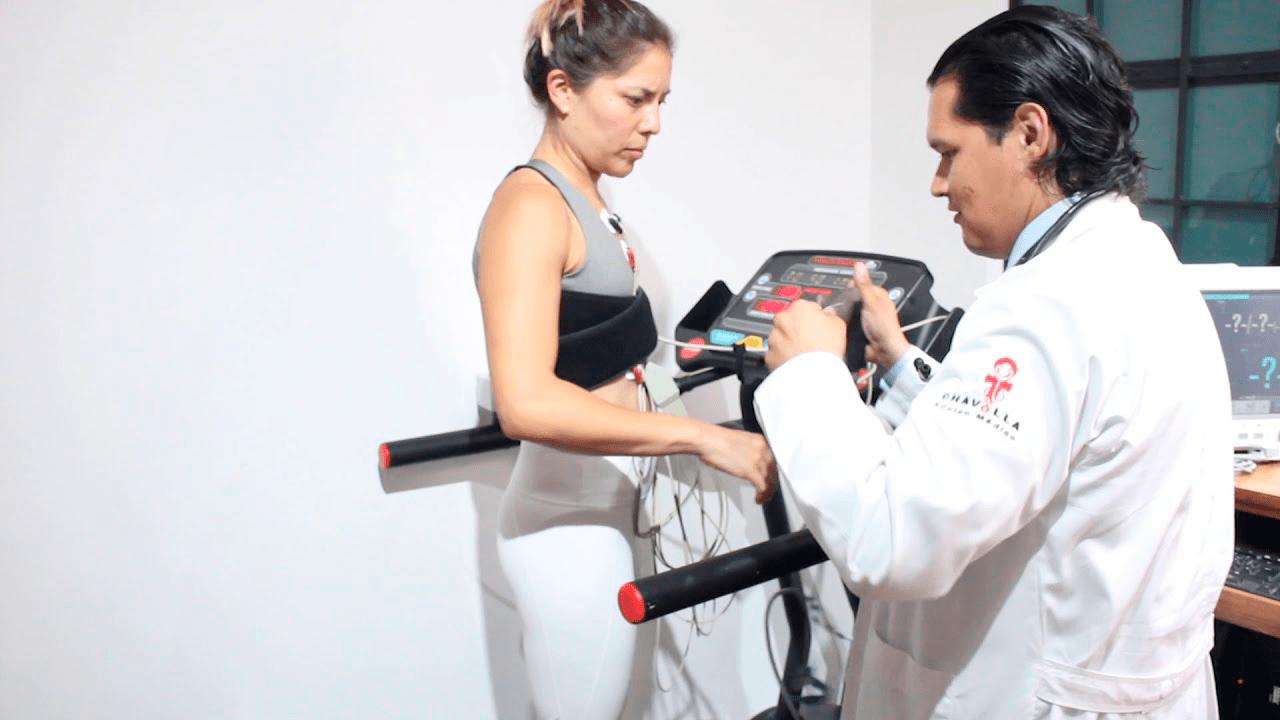 Ergometría, una prueba para coronaria
